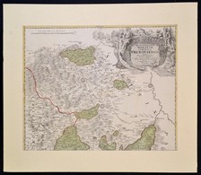 Cca 1720 Johann Baptist Homann: Marchionatus Moraviae Circulus Preroviensis Quem Mandato Caesareo Accurate Emensus Hac M - Maps