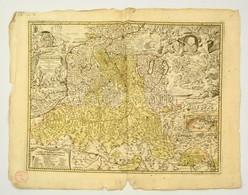 Homann Johann Babtiste (1664-1724 ) Principatus Et Archiepiscopatus Salisburgensis. / Salzburgi Hercegség és Püspökség T - Maps