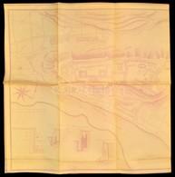 Cca 1950 Budavár Térkép és Helyszínrajz Nagyméretű Másolata. . 150x64 Cm - Non Classés