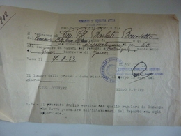 """Documento """"REGIA AERONAUTICA  FOGLIO DI LICENZA PROVVISORIA Comando Terza Squadra Aerea""""  1943 - Documenti Storici"""