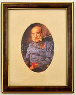 Ferenc József Modern Nyomat, Modern Keretben, 12×8 Cm - Non Classés