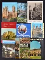 Vegyes Modern Utazási Prospektus Tétel, 10 Db: Főleg Angliából: St. Paul's Cathedral. Look At Windsor. A Guide To The Pa - Non Classés