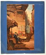Carl Spitzweg: Der Antiquar,  A Régiségkereskedő, Nyomat, Szakadozott Papíron, 30x18 Cm - Non Classés