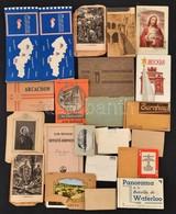 Vegyes Képeslap, Papírrégiség és Képeslapfüzet Tétel - Non Classés