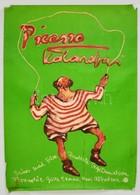 1980 Bányai István (1949-): Picasso Kalandjai, Svéd Film Plakát, Ofszet, Sarkain Kis Sérüléssel, 84x60 Cm - Other Collections