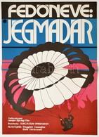 1973 Deák György (1940-): Fedőneve: Jégmadár, Szovjet Ifjúsági Film Plakát, Hajtásnyommal, 56,5x40 Cm - Other Collections
