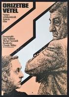 1981 Kemény György (1936-): Őrizetbe Vétel, Francia Film Plakát, Főszereplő: Lino Ventura- Michel Serrault, Hajtásnyomma - Other Collections