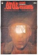 1979 Nagy Péter (?-): Az ötös Számú Vágóhíd, Amerikai Film Plakát, Kurt Vonnegut Regénye Nyomán, Hajtásnyommal, 57x39 Cm - Other Collections