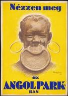 1931 Pál György (1906-1986): Nézzen Meg Az Angolparkban, Reklám Plakátterv, Vegyes Technika, Papír, Jelzett, 29,5x20,5 C - Other Collections