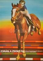 1981 Szyksznian Wanda (1948-): Zorán, A Zsoké Fia, Jugoszláv Ifjúsági Film Plakát, Rendezte: Jovan Rancic, Hajtásnyommal - Other Collections