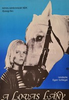1982 A Lovas Lány, NDK Ifjúsági Film Plakát, Hajtásnyommal, 56x39 Cm - Other Collections