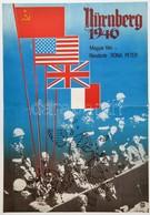 1982 Nürnberg 1946, Magyar Dokumentumfilm Plakát, Rendezte: Róna Péter, Bkkm. Mozi Rota Kecskemét, Hajtásnál Szakadás,   - Other Collections