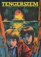 Cca 1980 Tengerszem, Csehszlovák Ifjúsági Film Plakát, Rendezte: Karel Smyczek, Hajtásnyommal, 57x41 Cm - Other Collections