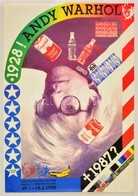 1990 Prága, Andy Warhol Kiállítás Plakát, Ofszet, 89x61,5 Cm / Prague, Andy Warhol Exhibition Poster, Ofset, 89x61,5 Cm - Other Collections