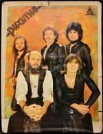 1977 Piramis Együttes, Plakát, Szélén 2 Kisebb Szakadás, 77x59 Cm - Other Collections