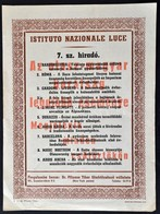 1940 Istituto Nazionale Luce 7. Sz. Hiradója, Kisplaták, Bp., Pflumm Tibor Filmkölcsönző Vállalata, Kispest, Fischhof He - Other Collections