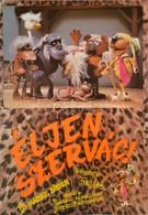 1986 Éljen, Szervác! Magyar Bábfilm Plakát, Rendezte Foky Ottó, Hajtásnyommal, 81x56,5 Cm - Other Collections