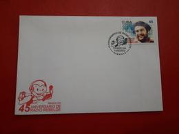 La Cuba FDC 45 Ans De Rayon(radio) Rebelle Avec Timbre Che Guevara 2003 - Celebrità