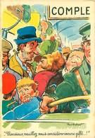 Illustrateur Paul Ordner - Monsieur Veuillez Vous Considerer   B 898 - Humour