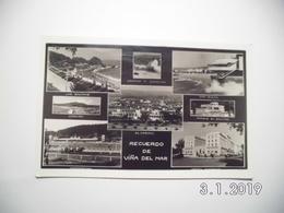Valparaiso. - Recuerdo De Vina Del Mar. (23 - 11 - 1956) - Chili