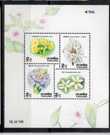1996 - TAINLANDIA - Catg.. Mi. 1734/1737 - NH - (CW1822.7) - Tailandia