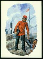 AKx Post | Dänemark 1890, Briefträger, Uniform - Post