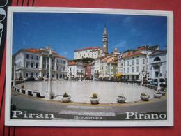 Piran / Pirano: Tartini-Platz - Slovénie