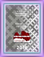 Latvia  , Lettland , Lettonia 2018  Full  Year STAMP Set  MNH - Latvia