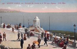 Monte Carlo (Monaco) - Les Terrasses Du Casino Et Le Tir Au Pigeons - Monte-Carlo