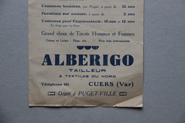 Tarif Alberigo Tailleur à Cuers (Var) - Textile & Vestimentaire