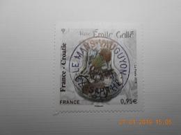 FRANCE 2018    FRANCE - CROATIE    Emile GALLE    Beau Cachet  Rond Sur Timbre Neuf - France