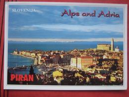 """Piran / Pirano: Panorama """"Alps And Adria"""" - Slovénie"""