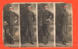 Bologna Distretto Militare Regio Esercito Foto Di Posa In Sequenza - War, Military