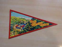 Fanion Touristique France ST MARTIN DE CANIGOU - ROUSILLON (vintage Années 60) - (Vaantje - Wimpel - Pennant - Banderin) - Obj. 'Remember Of'