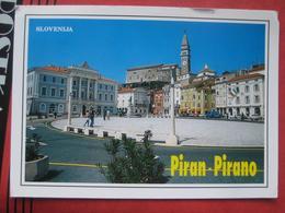 Piran / Pirano: Tartini Platz - Slovénie