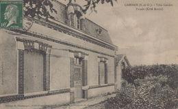 Gambais : Villa Landru - Façade (Côté Route) - France