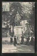 CPA Saint-Pons, Statue De La Liberté, Promenade Des Tilleuls - Saint-Pons-de-Thomières