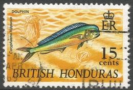 British Honduras. 1968 Wildlife. 15c Used SG 262 - British Honduras (...-1970)