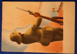 "Postcard Cartolina ""Legionario In Africa "" Mancioli - War 1939-45"