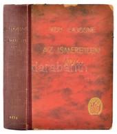 Ady Lajosné: Az Ismeretlen Ady. Akiről Az érmindszenti Levelesláda Beszél. (Bp., 1942,) Béta. 412 P.+8 Levélen Fekete-fe - Books, Magazines, Comics