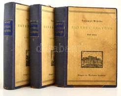 Surányi Miklós: Egyedül Vagyunk I.-III. Bp., 1936, Singer és Wolfner,  Korabeli Félvászon Kötésben - Books, Magazines, Comics