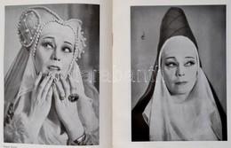 Escher Károly-Vajda Miklós: Bajor Gizi. Bp.,1958, Magvető. Fekete-fehér Fotókkal Illusztrálva. Kiadói Egészvászon-kötés. - Books, Magazines, Comics