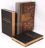 Shakespeare Színművei. Csiky Gergely Jegyzeteivel. Első Kötet. Bp.,én.,Ráth Mór. Több Lap Tépett, Szakadt, újrakötve + R - Books, Magazines, Comics