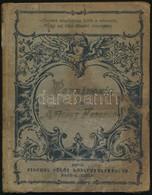 Kölcsey Ferenc: Parainesis. Nagykanizsa,[1896], Fischel Fülöp, 71 P. Kiadói Festett Egészvászon-kötés, Megviselt állapot - Books, Magazines, Comics