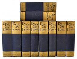Révai Nagy Lexikona I-XIX.+XXI. Kötet. Bp.-Szekszárd, 1989-1996, Szépirodalmi Kiadó-Babits Könyvkiadó. Hasonmás Kiadás.  - Books, Magazines, Comics