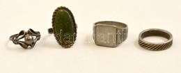 4 Db Ezüst Gyűrű 18,2 G - Jewels & Clocks