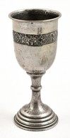 Ezüst(Ag) Kupa, Jelzett, Mesterjeggyel, '1882-1932 Aug.18.' Gravírozott Felirattal M: 18 Cm, Nettó: 157,1 G - Jewels & Clocks