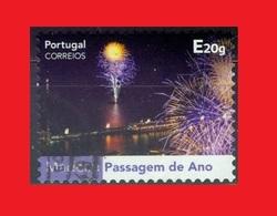 Portugal Fireworks - Feu D'artifice - Feuerwerk Used - New Year