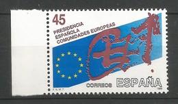 Spanien 1989  Mi.Nr. 2887 , EUROPA CEPT Sympathie Mitläufer - Postfrisch / MNH / (**) - Europa-CEPT