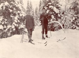 Skifahrer 1911 - Anonymous Persons